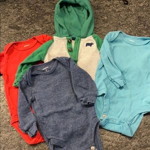 Long sleeve baby boy bundle